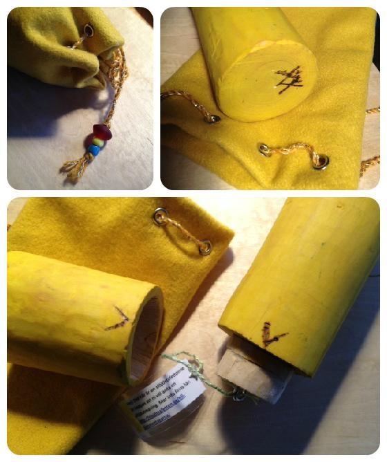 Pinnen är gjord av elever som gick i årskurs 5 på Växthuset förra läsåret